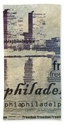 Philadelphia Freedom Beach Towel