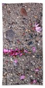 Philadelphia Street Art Beach Towel by Rona Black