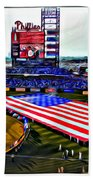 Phillies American Beach Towel by Alice Gipson