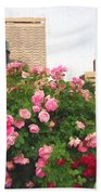 Philly Roses Beach Towel