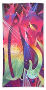 Phish The Mother Ship Beach Towel