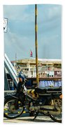 Phnom Penh Harbour Beach Towel