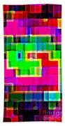 Phone Case Art Intricate Colorful Dynamic Abstract City Geometric Designs By Carole Spandau 131 Cbs  Beach Towel