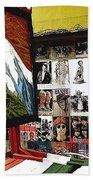 Photographer's Stand Us-mexico Border Town Nogales Sonora Mexico 2003 Beach Towel