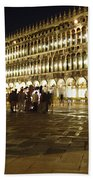 Piazza San Marco Beach Towel by Ellen Henneke