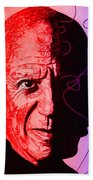 Picasso In Light Sketch 2 Beach Towel