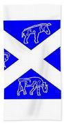 Pictish Scotland Flag Beach Towel