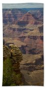Picturesque View Of The Grand Canyon Beach Towel
