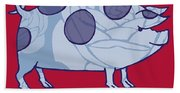 Piddle Valley Pig Beach Towel