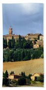 Pienza A Hill Town In Tuscany Beach Towel