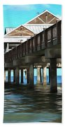 Pier 60 - Clearwater Florida  Beach Towel