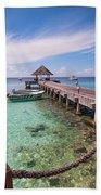 Pier Into Blue. Resort Vivanta By Taj Beach Towel