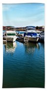 Pier Pressure - Lake Norman Beach Towel