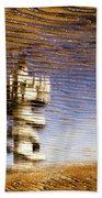 Pier Tower Beach Towel by Dave Bowman