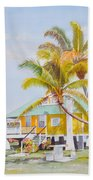 Pigeon Key - Home Beach Towel