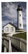 Pigeon Point Lighthouse II Beach Towel