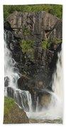 Pigeon River High Falls 2 Beach Towel