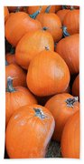 Piles Of Pumpkins Beach Towel
