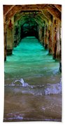 Pillars Of Time Beach Towel