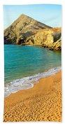 Pilon De Azucar Beach Beach Towel