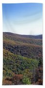 Pilot Mountain Near Balsam Grove Beach Towel