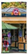 Pin Traders Downtown Disneyland 02 Beach Towel