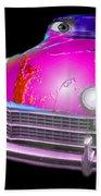 Pin Up Cars - #1 Beach Towel by Gunter Nezhoda