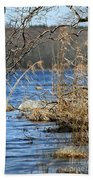 Pine Acres Lake Blues  Beach Towel
