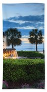 Pineapple Fountain Charleston South Carolina Sc Beach Towel