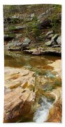 Piney Creek In Southern Illinois Beach Towel