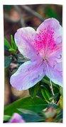 Pink Azalea Beach Towel