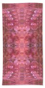 Pink Bubbles Beach Towel