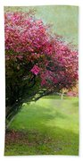 Pink Canopy Beach Towel