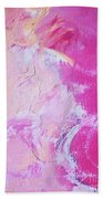 Pink Moving Beach Towel