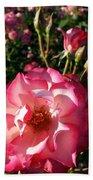 Pink Flaminco Rose 2 Beach Towel