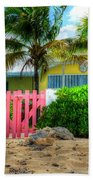 Pink Gate Beach Towel
