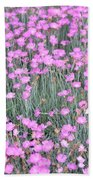 Pink Incarnated Beach Towel