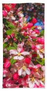 Pink Magnolia 2 Beach Towel