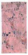 Pink Marble Beach Towel