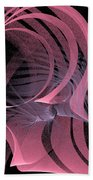 Pink Panels Beach Towel