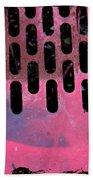Pink Perfed Beach Sheet