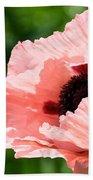 Pink Poppy Today Beach Towel
