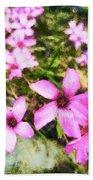 Pink Propellers  Beach Towel