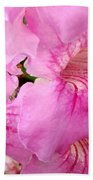 Pink Thunbergia Beach Towel