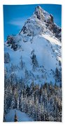 Pinnacle Peak Winter Glory Beach Towel