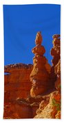 Pinnacles Of Red Rock Beach Towel