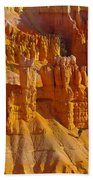 Pinnicles At Sunset Point Bryce Canyon National Park Beach Towel