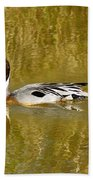 Pintail Duck Beach Towel