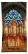 Pipe Organ Beach Towel