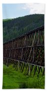 Pipeline Trestle Beach Towel